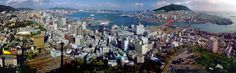 Busan_ South Korea Busan South Korea, San Francisco Skyline, New York Skyline, Asia, Around The Worlds, Korean, Beach, Travel, Voyage