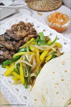 집에서 맛있게 해먹기~비프 앤 치킨 화이타 - Daum 요리