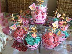 Heidi 3rd birthday cupcakes.
