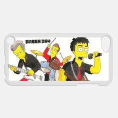 The Simpson Green day Cartoon Apple ipod 4 4g touch case cover, US $16.89