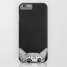 iPhone & iPod Case featuring You Asleep Yet? by Laura Graves