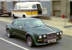"'76 Broadspeed Jag - (Used as Steed's car from TV ""New Avengers"")..."