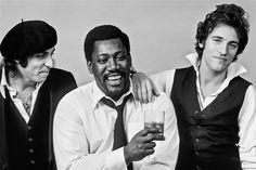 Bruce Springsteen Clarence Clemons and Steven Van Zandt, 1978 #BruceSpringsteen