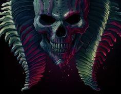 "Check out new work on my @Behance portfolio: ""Blue skull"" http://be.net/gallery/33273937/Blue-skull"