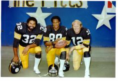 Super Bowl MVP's Harris (Super Bowl IX) Swann (Super Bowl X) Bradshaw (Super Bowl XII, XIV)