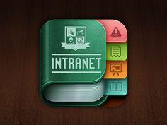 School Intranet IOS icon