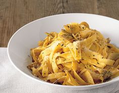 Tagliatelle With Artichokes And Parsley