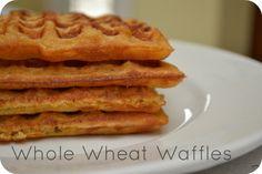100% Whole Wheat Waffles | Grain Mill Wagon