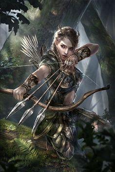 Female Elf Warrior Gallery I Fantasy Warrior, Elf Warrior, Fantasy Girl, Foto Fantasy, Fantasy Art Women, Warrior Girl, Warrior Women, Celtic Fantasy Art, Warrior Outfit