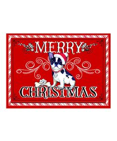Look at this Santa Paws Frenchie Greeting Cards on #zulily today!