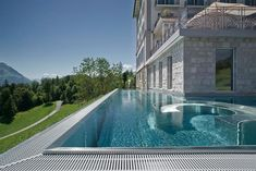 Villa Honegg - A Luxury Hotel with the Most Beautiful Pool View in the World Hotel Villa Honegg Switzerland, Switzerland Hotels, Lucerne Switzerland, Hotel Villas, Hotel Amenities, Infinity Pools, Outdoor Swimming Pool, Swimming Pools, Luxury Pools
