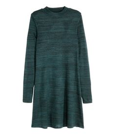 green A-Line dress| H&M DE