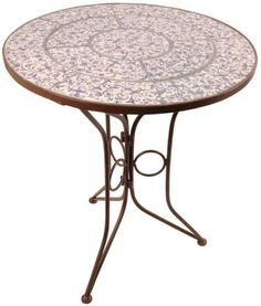 Fallen Fruits Aged Ceramics Bistro Table    Make the Best this Fantastic Opportunity. Take a look By_touch2 and get this offerNow!