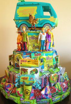 Scooby doo party! Scooby doo party favors!