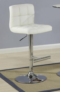 Coaster Home Furnishings Set of 2 29 H Adjustable Bar Stools in Cream Leatherette Extra Tall Bar Stools, Luxury Home Furniture, Adjustable Bar Stools, Home Furnishings, Coasters, Contemporary, Cream, Chair, Furniture Ideas