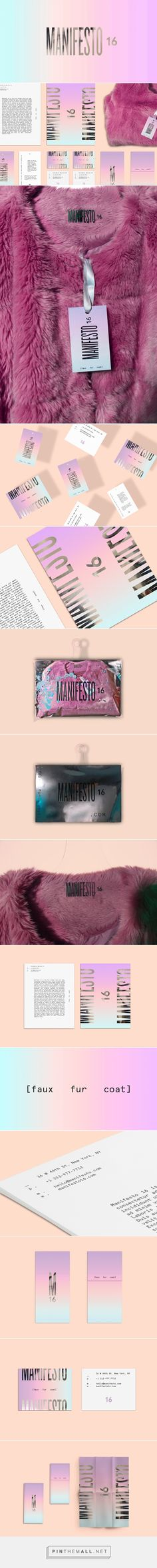 MANIFESTO 16 Fashion Branding by Karen Castellanos | Fivestar Branding Agency – Design and Branding Agency & Inspiration Gallery