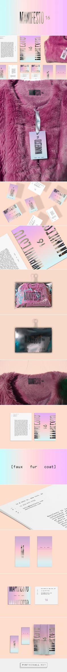 MANIFESTO 16 Fashion Branding by Karen Castellanos | Fivestar Branding Agency – Design and Branding Agency & Inspiration Gallery