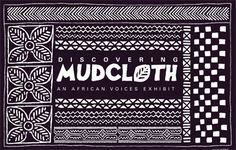 Interactive website to use when creating Mudcloths with kids-apply mud mixture on muslin.  Great unit for positive and negative shapes! http://www.mnh.si.edu/africanvoices/mudcloth/index_flash.html