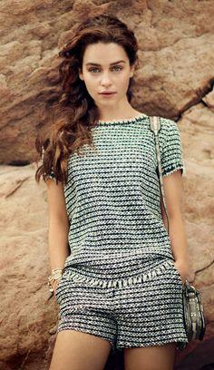 beautiful Emilia Clarke