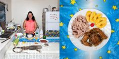 Gabrielle Galimberti traveled the world, taking pictures of grandmothers and the food they make. This is Maria Luz Fedric from the Caymans, with her Honduran Iguana recipe.