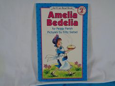 vintage 1992 Amelia Bedelia book by Peggy Parish An I Can Read Book Level 2 by TheVintageKeepers on Etsy