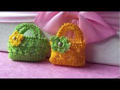 Crochet Barbie Patterns, Crochet Barbie Clothes, Crochet Doll Pattern, Crochet Handbags, Crochet Purses, Mini Barbie Dolls, Childrens Purses, Crochet Pouch, Toy Net