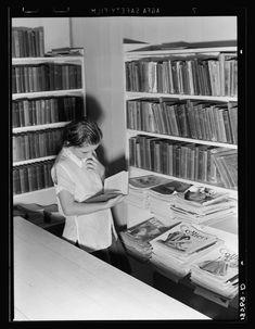 Vintage Photos of Librarians