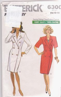1980s vintage sewing pattern for fitted by beththebooklady on Etsy, $5.99