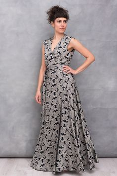 Party Outfits, Maxi Wrap Dress, Simple Lines, Elegant, Formal Dresses, Fashion, Classy, Dresses For Formal, Moda
