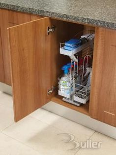 Buller > Cleaning Products Caddy - Soft Close Pull Out 270w x 460d x 540h