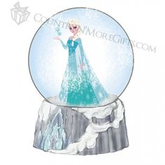 Department 56 - Disneys Frozen - Elsa Water Globe