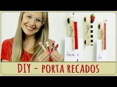 Porta Recados de Geladeira =DiY - YouTube