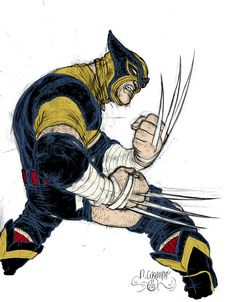 Wolverine by Rafael Grampa Comic Book Artists, Comic Book Characters, Comic Book Heroes, Marvel Characters, Comic Artist, Comic Character, Comic Books Art, Marvel Wolverine, Marvel Comics