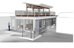 ⌂ The Container Home ⌂ Blu Homes Flex.