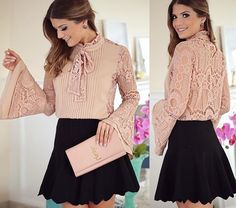 cute outfit, romantic outfir, look romântico, look fofo