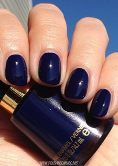 This violet blue is simply stunning! Tx ☆ Polish Insominac - Revlon Urban