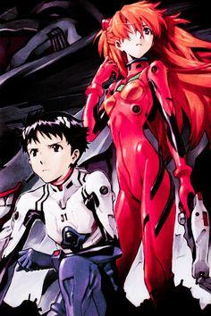 Neon Genesis Evangelion | Asuka Langley | Shinji Ikari