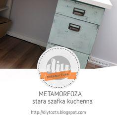DIY - zrób to sam : METAMORFOZA - STARA SZAFKA KUCHENA Filing Cabinet, Storage, Diy, Furniture, Home Decor, Purse Storage, Decoration Home, Bricolage, Room Decor