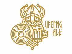 Viking ale designed by Sergey Arzamastsev. Connect with them on Dribbble; the global community for designers and creative professionals. Celtic Raven, Celtic Art, Beer Logo Design, Branding Design, Viking Baby, Warrior Logo, Viking Logo, Sword Design, Wood Carving Designs