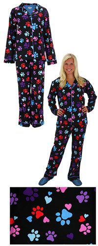Loving Paws Pajama Set - Just $18! Purchase funds 14 bowls of food for shelter animals. @Sarah Gold for Jane? Mmm.