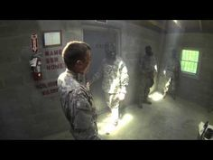Bravo Company's Cadet Basic Training First Sergeant recited the entire Soldier's Creed in the House of Tears gas chamber on July 30, 2013. He was the only cadet to successfully say the entire Soldier's Creed during Bravo Company's training.
