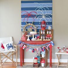 Nautical 4th of July Printable Party Collection - Free Download
