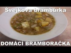 Czech Recipes, Cheeseburger Chowder, Soup, Meat, Chicken, Youtube, Soups, Youtubers, Youtube Movies