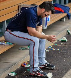 Dan Uggla - Braves.... Just call me Mrs. Uggla.