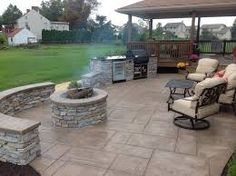 Image result for stamped concrete patio