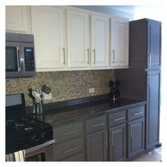 But Like The Color Combination On The Cabinetsu2026 Two Tone Kitchen ...