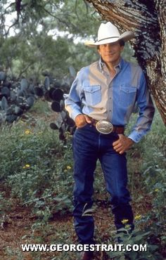 George Strait appears in the country every now and then.