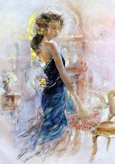 Gary Benfield, 1965 ~ Figurative painter
