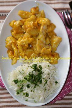 Rice Recipes, Cooking Recipes, Healthy Recipes, Pollo Al Bourbon, Pollo Light, Cena Light, Oriental, Risotto, Food And Drink