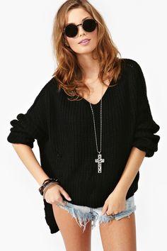 Cambridge Knit - Black